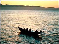 Chumash canoe  Image: National Marine Sanctuaries