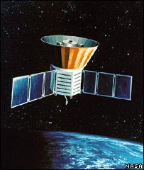 El satélite COBE de la NASA.