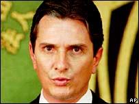 Former President Fernando Collor de Mello