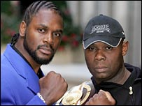 Audley Harrison and Matt Skelton