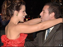 Kate Beckinsale and Adam Sandler