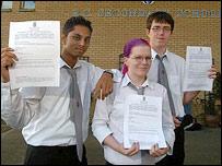 Dilusha Pathirana, Roisin Craig and James McKee (picture courtesy of Scottish Parliamentary Corporate Body)