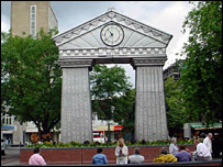Festival Clock in John Frost Square