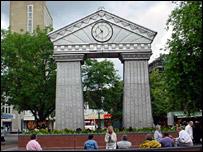 Festival Clock in John Frost Square