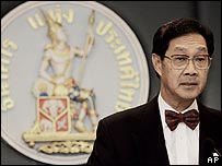 Pridiyathorn Devakula, Thai central bank governor