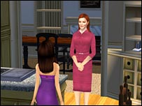 Screenshot from Desperate Housewives video game