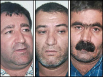Ramazan Zorlu, Hassan Eroglu and Ali Riza Gun