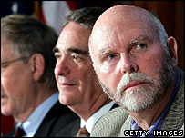 J Craig Venter, right, at launch of latest X-Prize