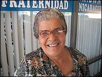 Milagros P�rez, inmigrante cubana
