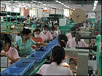 Clarks shoe factory in Vietnam