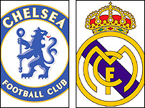 Chelsea and Real Madrid