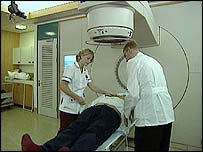 Image of radiotherapy