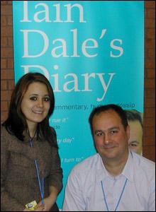 Victoria meets Iain Dale