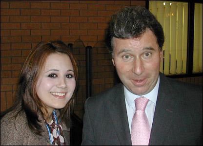 Victoria meets Oliver Letwin MP
