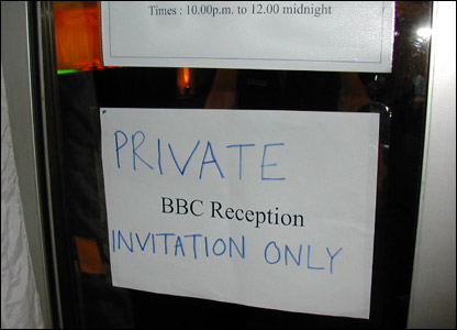 The BBC party