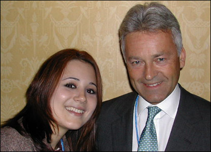 Victoria meets Alan Duncan MP