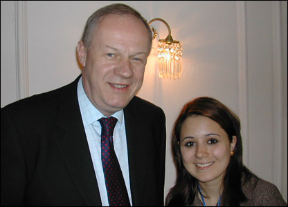 Victoria meets Damian Green MP