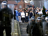 Police in Belfast