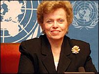 Ellen Sauerbrey, US Assistant Secretary of State for Refugee Affairs