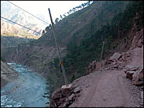 Difficult Neelum valley