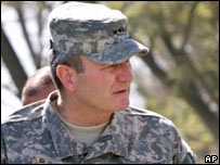 US Lt Gen Karl Eikenberry