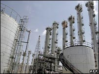 AFP-Getty image of Iran nuclear plant