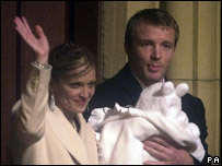 Madonna and Guy Ritchie with their son Rocco