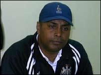 Mauritius coach Sarjoo Gowreesungkur