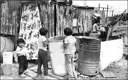 Escasez de agua en la Ciudad de México. Archivo histórico, El Universal.