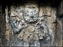 Imagen de Tlaloc, dios azteca de la lluvia