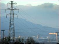 Viridian power pylon