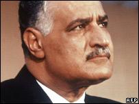 Former Egyptian leader Gamal Abdul Nasser