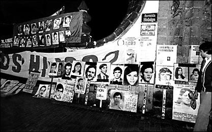 Desaparecidos y presos políticos, 29 de agosto de 1983. Archivo histórico, El Universal.