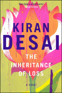 The book cover of The Inheritance of Loss