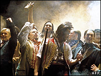 A production of Les Miserables (AFP/Getty)
