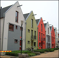 Terraced housing in Bo01