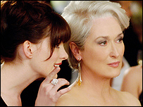 Publicity image from The Devil Wears Prada