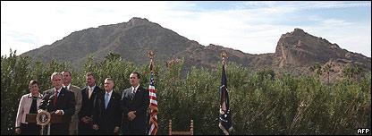 George W. Bush en Arizona
