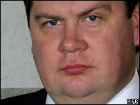 Latvian Prime Minister Aigars Kalvitis
