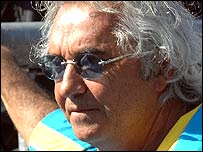 Renault team chief Flavio Briatore
