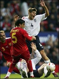 England's Steven Gerrard