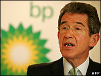 BP chief executive John Browne