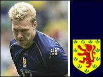 Scotland striker Garry O'Connor