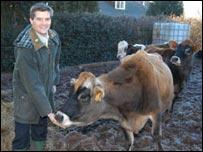 Mark Harper MP with Harriet