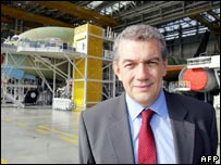 Airbus chief executive Christian Streiff