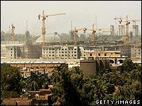 US embassy under construction