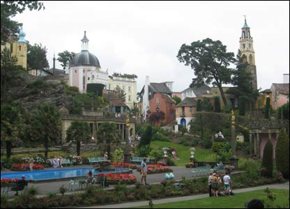 Taylor Tarter from Maryland, USA, sent in this shot of Portmeirion