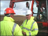 Alistair Darling at Eaglesham Moor