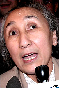Rebiya Kadeer was released from prison in China last year