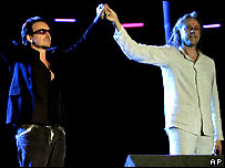 Bono and Geldof